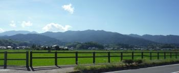 山の向こうは吉野