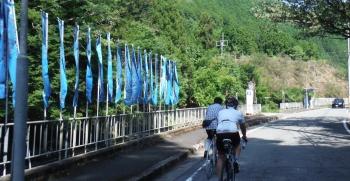 丹生上川神社前