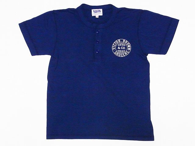 フェローズ ヘンリーネックTシャツ 18S-PHNT1-P1