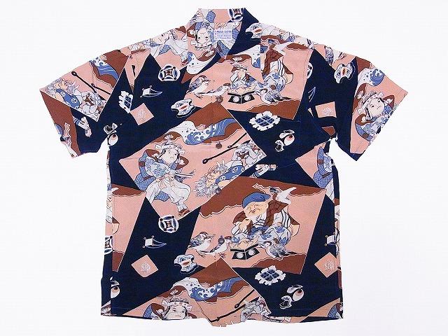 サンサーフ アロハシャツ SS32290 JAPAN OLDEN TALES