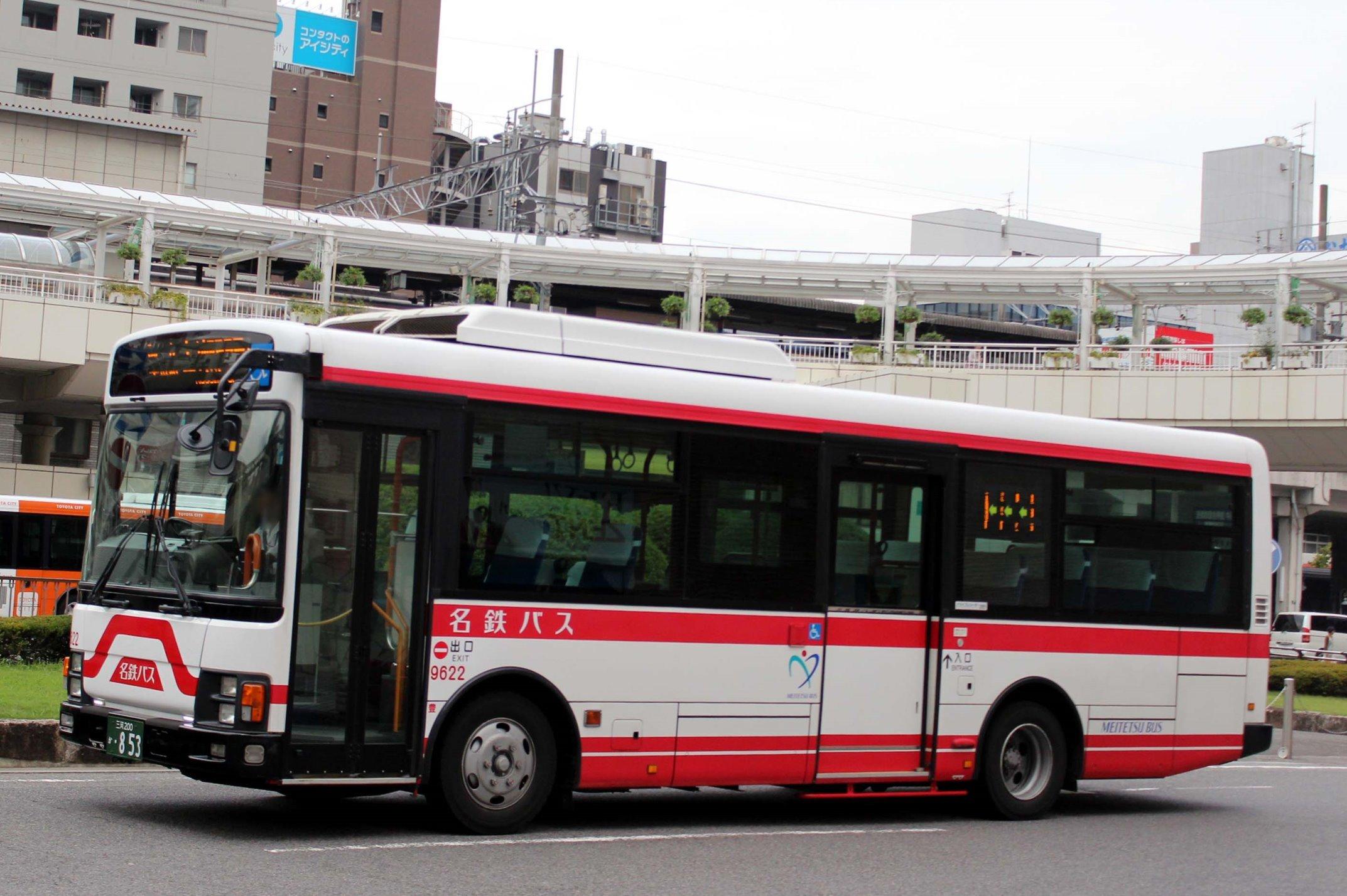 名鉄バス 9622