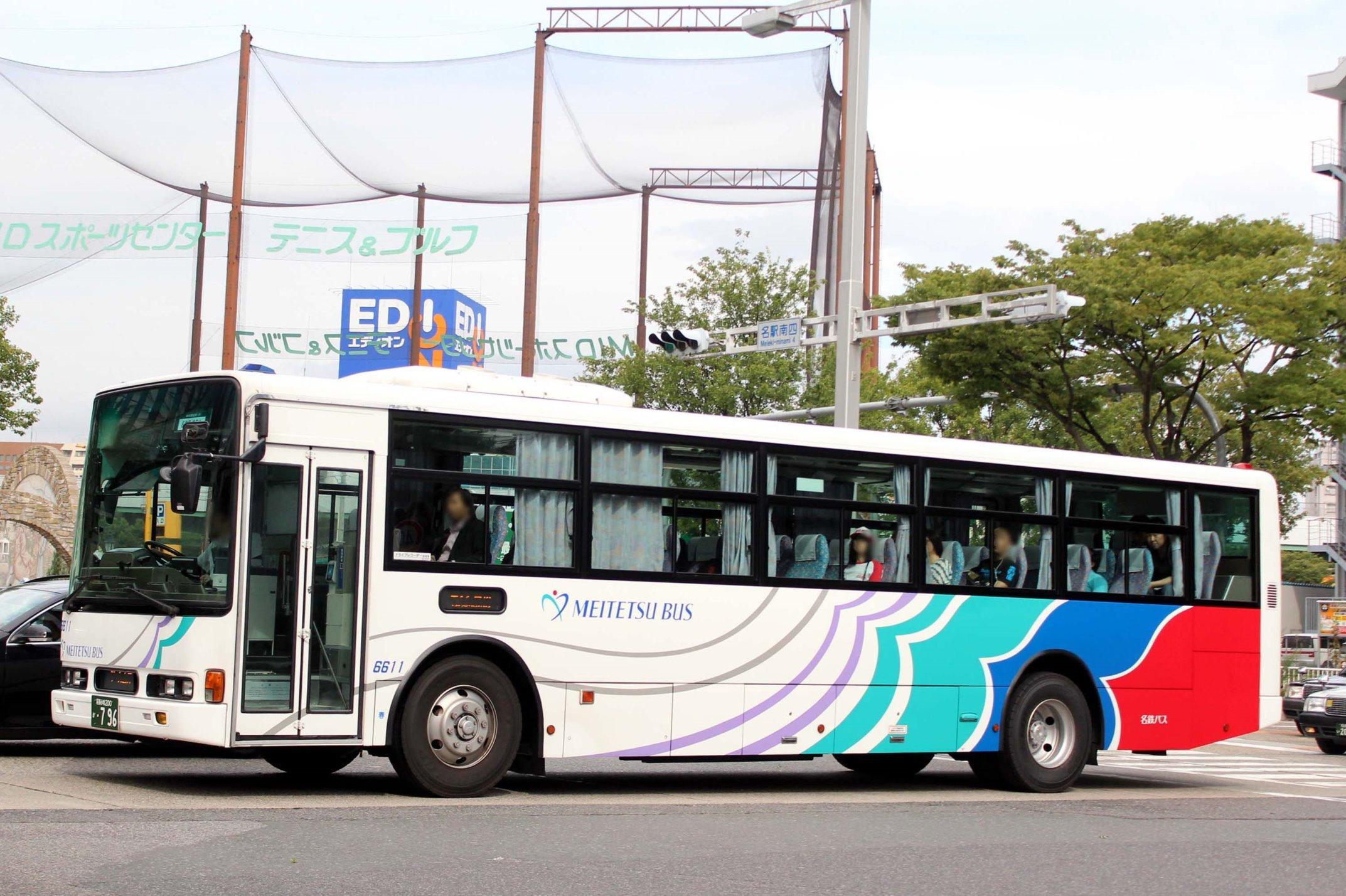 名鉄バス 6611