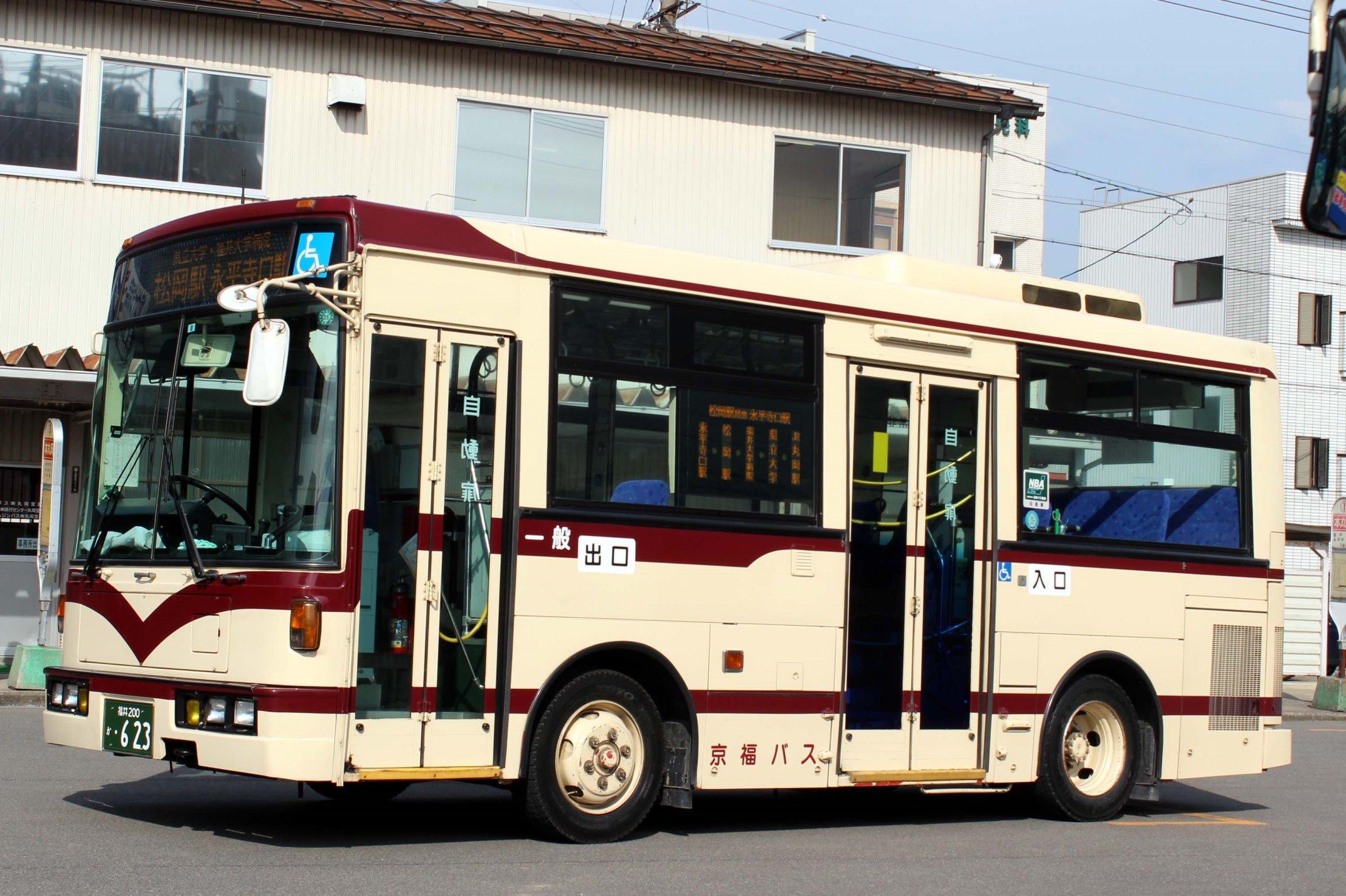京福バス か623