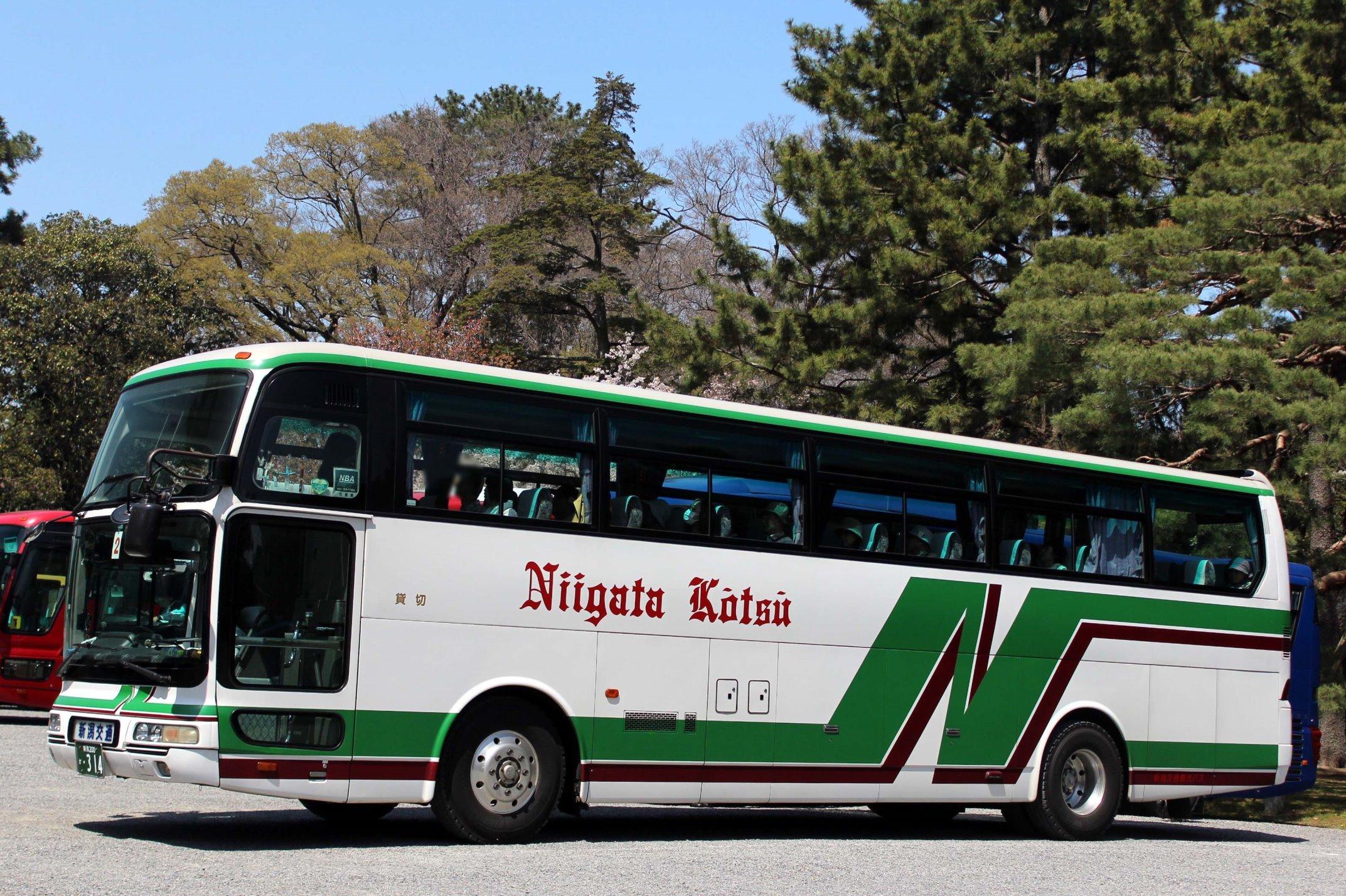 新潟交通観光バス か314