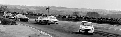 the motor race scene of the 60's in GB