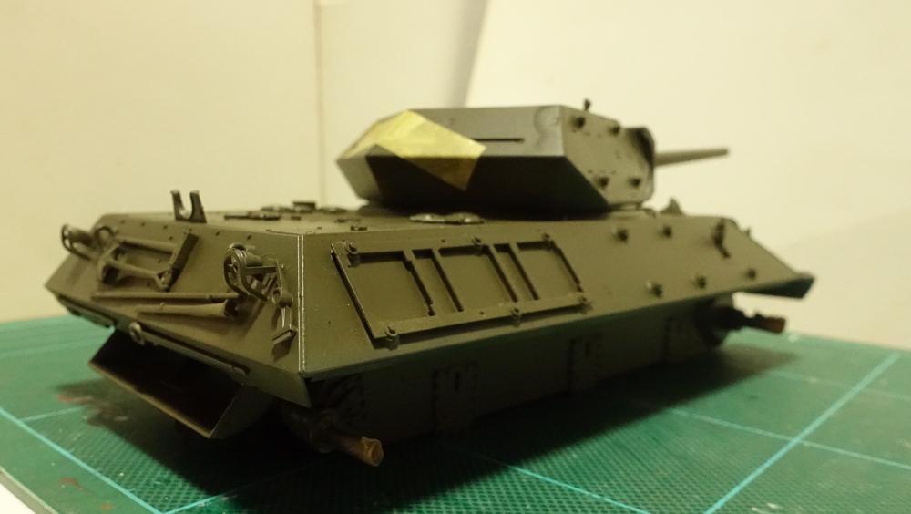 タミヤのミリタリーミニチュアシリーズ No.350 アメリカ M10 駆逐戦車(中期型) その2