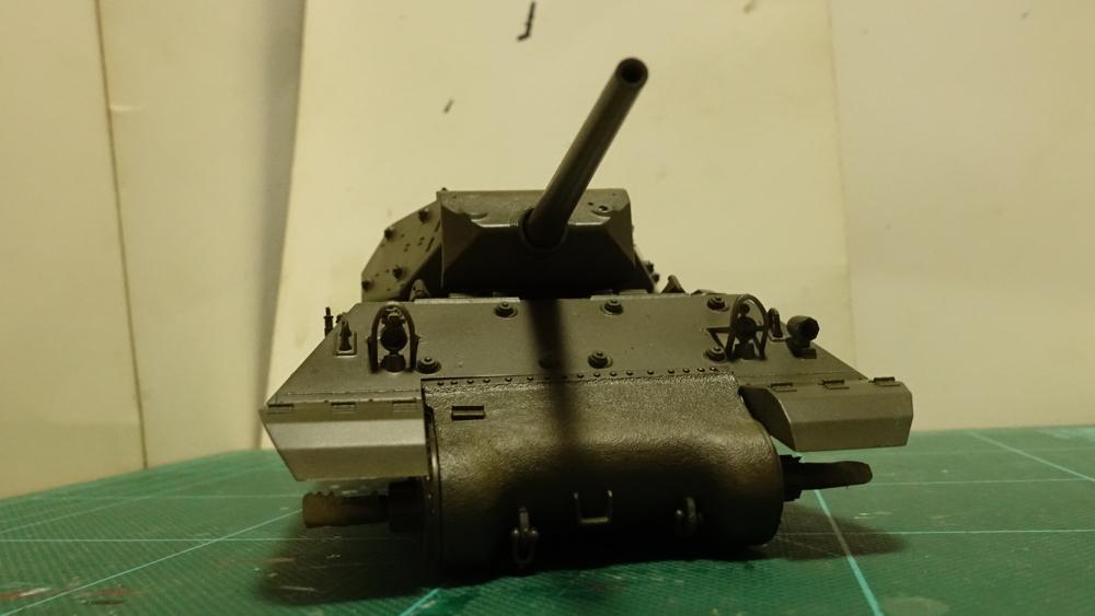 タミヤのミリタリーミニチュアシリーズ No.350 アメリカ M10 駆逐戦車(中期型) その3