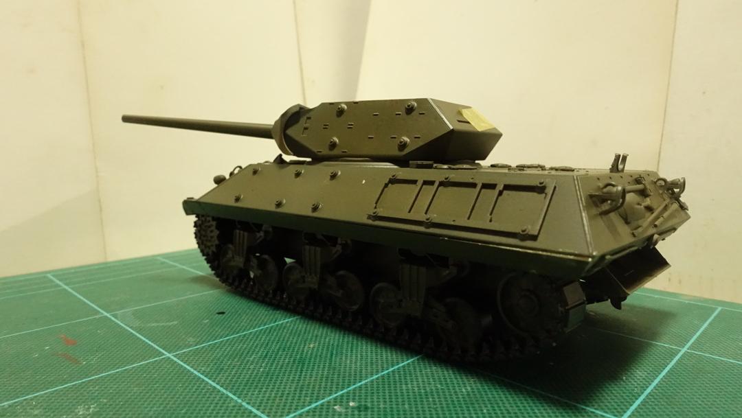 タミヤのミリタリーミニチュアシリーズ No.350 アメリカ M10 駆逐戦車(中期型) その4