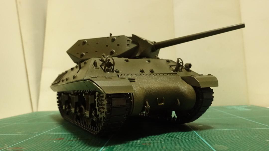 タミヤのミリタリーミニチュアシリーズ No.350 アメリカ M10 駆逐戦車(中期型) その5