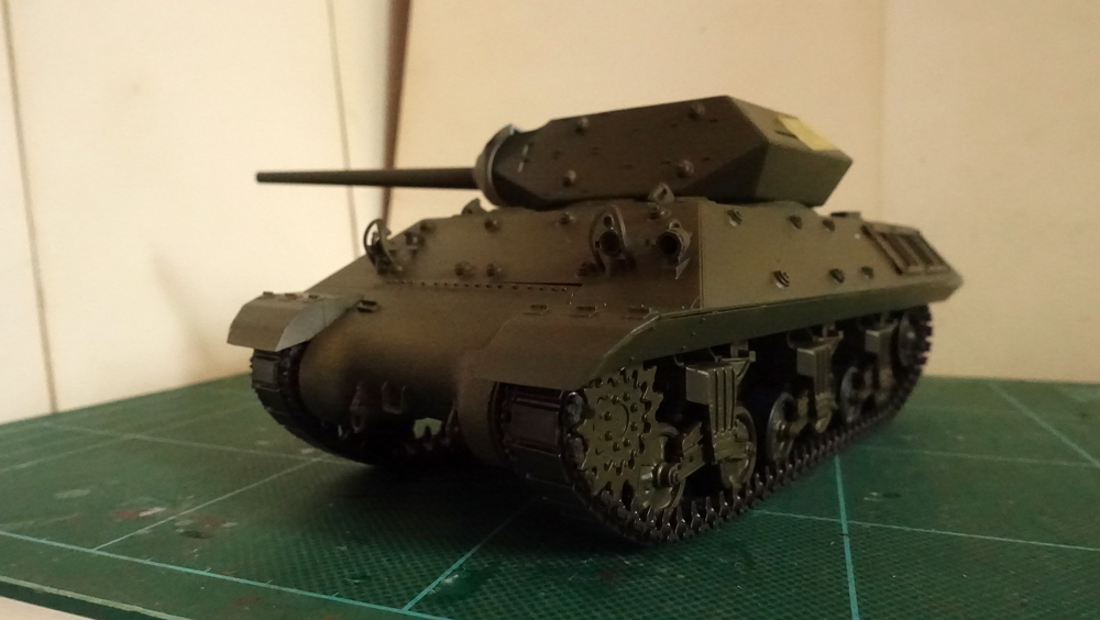 タミヤのMMシリーズの1/35のアメリカ M10 駆逐戦車(中期型)の写真