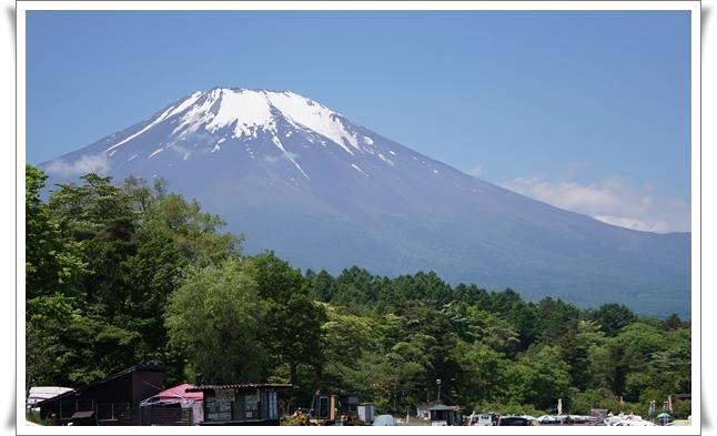 2018-6山中湖から富士山