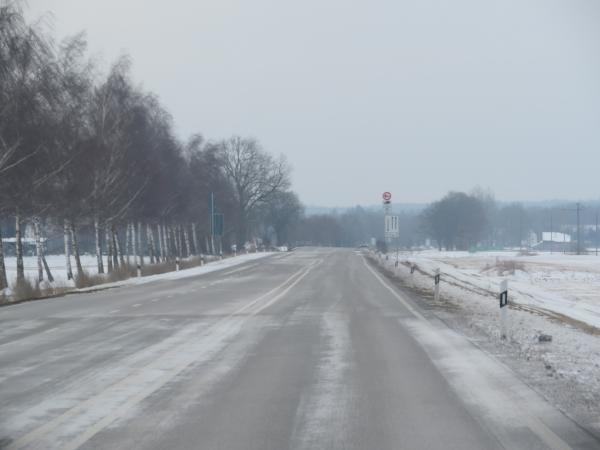 ノイシュヴァンシュタイン城への道