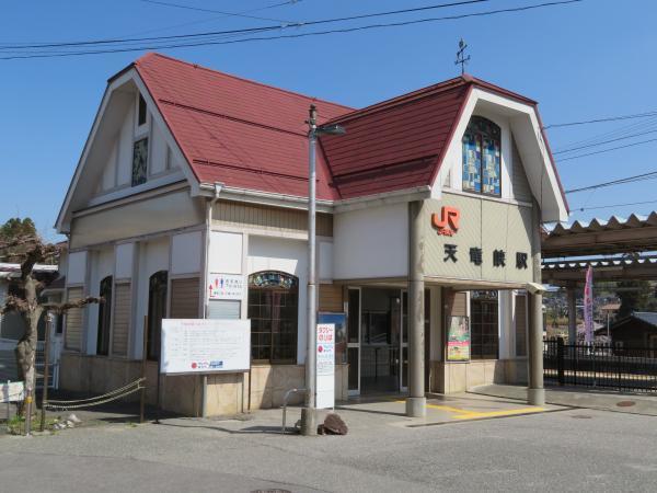 天竜峡駅1