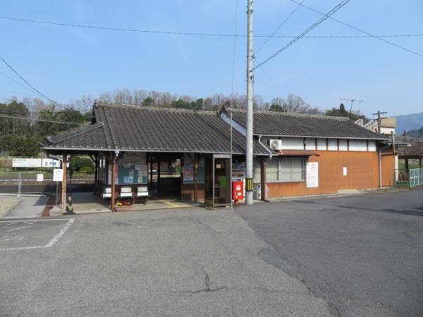 島ヶ原駅1