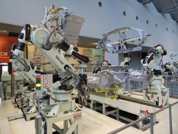 トヨタ産業技術記念館8