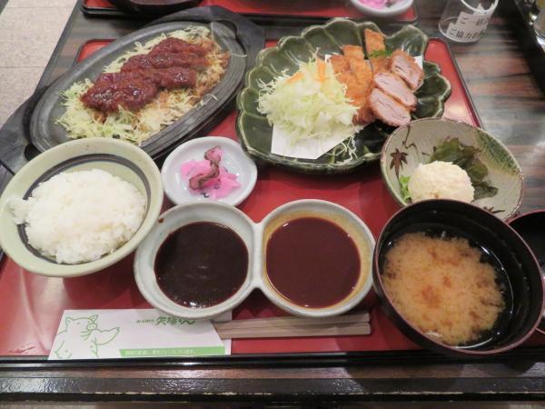 味噌カツ三昧定食