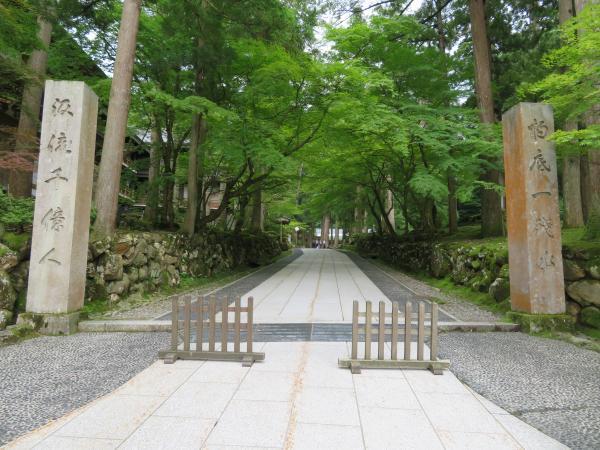 6月の永平寺1