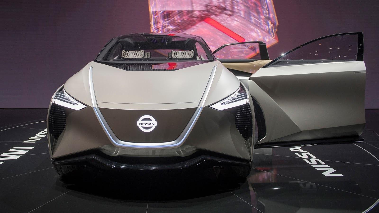 Nissan IMx Kuro Concept Geneva 2018 (7)