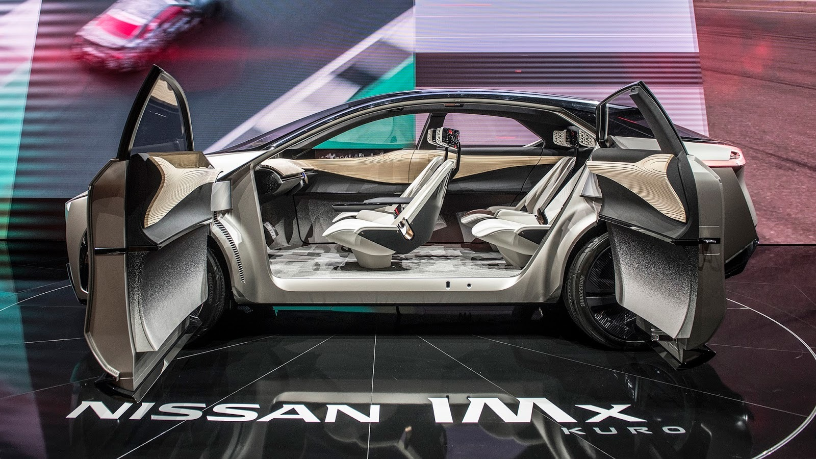 Nissan IMx Kuro Concept Geneva 2018 (6)