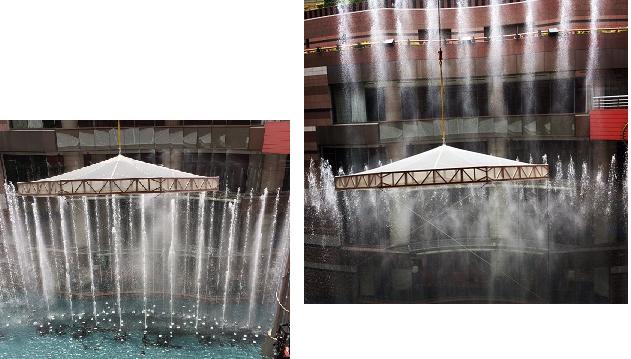 キャナル噴水