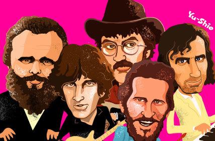 The Band caricature likeness