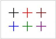 プラス記号のフリー素材テンプレート・図形・イラスト