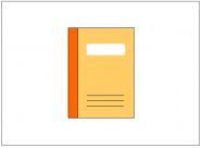 ノート(Note)のフリー素材テンプレート・図形・イラスト