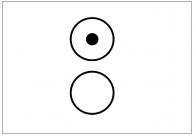 ラジオボタンのフリー素材テンプレート・図形・イラスト