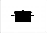 鍋のフリー素材テンプレート・図形・イラスト
