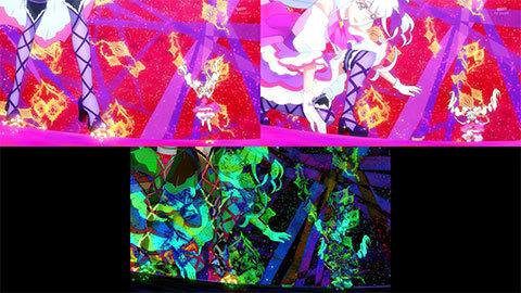【HUGっと!プリキュア】キュアマシェリ・キュアアムール変身比較[第20話・第21話]05
