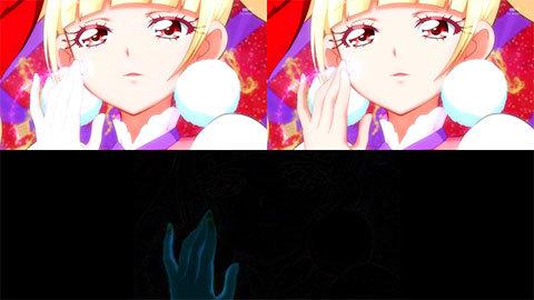 【HUGっと!プリキュア】キュアマシェリ・キュアアムール変身比較[第20話・第21話]03