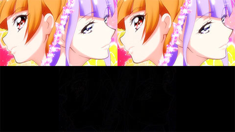 【HUGっと!プリキュア】キュアマシェリ・キュアアムール変身比較[第20話・第21話]00