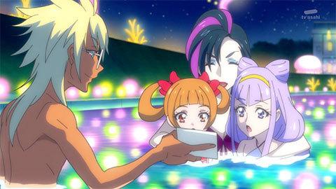 【HUGっと!プリキュア】第24話「元気スプラッシュ!魅惑のナイトプール!」20