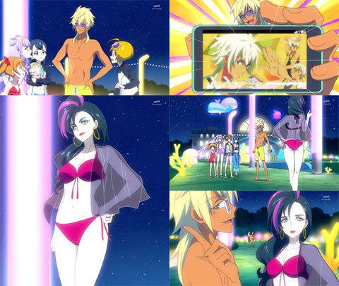 【HUGっと!プリキュア】第24話「元気スプラッシュ!魅惑のナイトプール!」10
