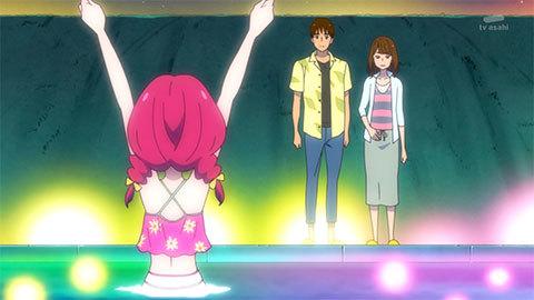 【HUGっと!プリキュア】第24話「元気スプラッシュ!魅惑のナイトプール!」08