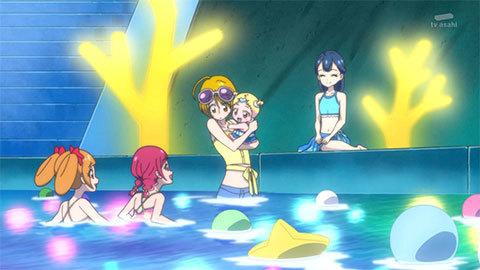 【HUGっと!プリキュア】第24話「元気スプラッシュ!魅惑のナイトプール!」07