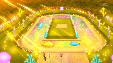 【HUGっと!プリキュア】第24話「元気スプラッシュ!魅惑のナイトプール!」05