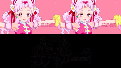 【HUGっと!プリキュア】ED比較[第23話・第24話]01
