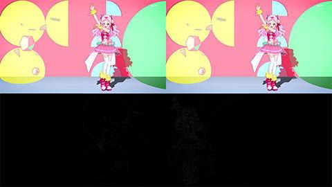 【HUGっと!プリキュア】ED比較[第23話・第24話]00