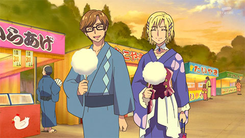 【HUGっと!プリキュア】第25話「夏祭りと花火とハリーのヒミツ」06