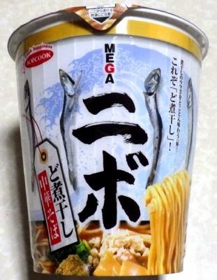 7/23発売 MEGAニボ ど煮干し中華そば(2018年)