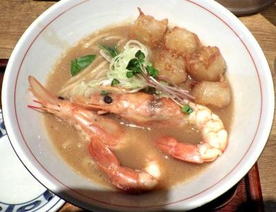 麺と心 7 めっちゃ海老白湯ラーメン ABタイプ