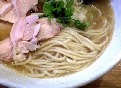 和海 塩ミックス(麺のアップ)