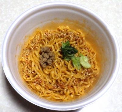 5/14発売 凄麺 THE・汁なし担担麺(できあがり)
