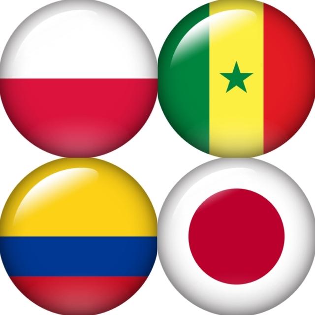 セネガル ワールドカップ W杯 グループH ポーランド コロンビア