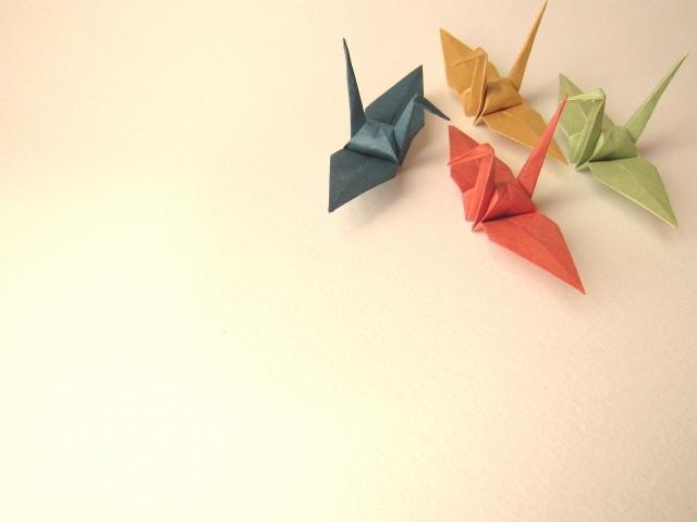 鶴 折り鶴