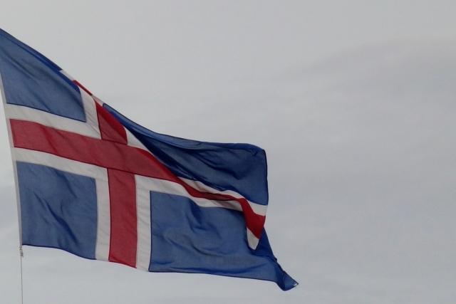 アイスランド 国旗 ワールドカップ バイキング