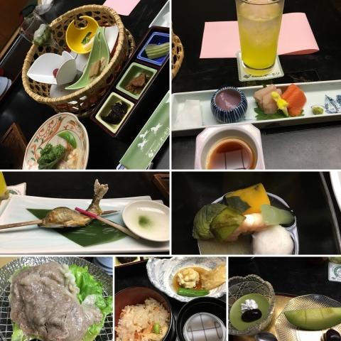旅館の夕ご飯