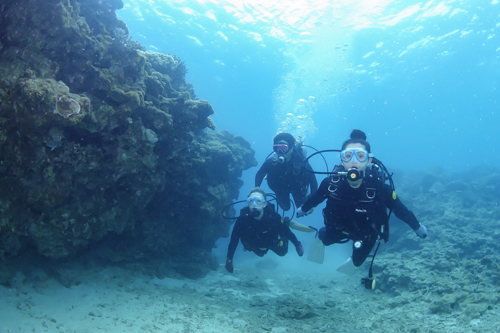 Experience diving 沖縄③