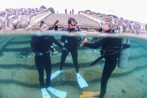 Experience diving 沖縄①